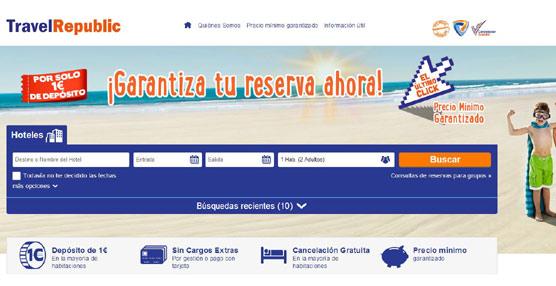 Travel Republic, en fase de implantación en nuestro país, incrementa sus ventas en un 147% entre abril y junio de este año