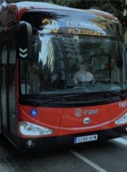 Barcelona es la primera de las ocho ciudades europeas en iniciar las pruebas en servicio regular dentro del proyecto ZeEUS (Zero Emission Urban bus Systems).