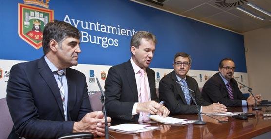 El alcalde de Burgos presenta los detalles del acuerdo con Renfe.
