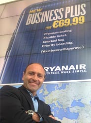 Kenny Jacobs, Marketing Chief Officer de Ryanair.