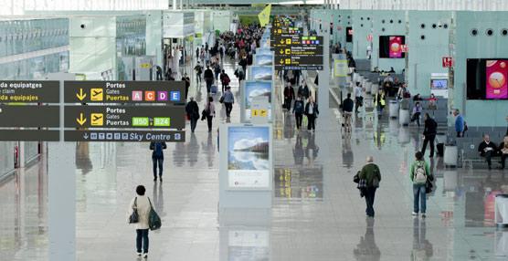 Los aeropuertos de Aena crecen en agosto por décimo mes consecutivo, rozando los 23 millones de pasajeros, un 6% más