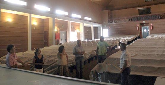 El Auditorio de Gran Tarajal, en Fuerteventura, estará listo para su apertura el próximo mes de octubre