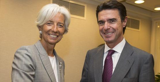 El ministro Soria explica a la directora del FMI que los mejores datos de España provienen del Sector Turístico