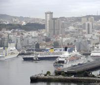 Los puertos españoles recibieron en julio 100.000 pasajeros de cruceros menos que hace un año, el cuarto retroceso consecutivo