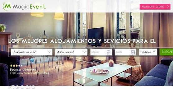 MagicEvent.com innova al combinar el consumo colaborativo con el alojamiento de los viajeros de negocios