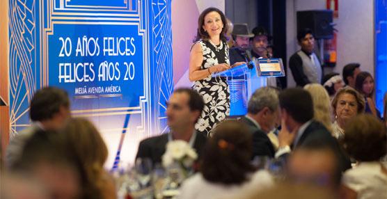 El hotel Meliá Avenida América reúne a más de 350 invitados para la celebración de su 20 aniversario