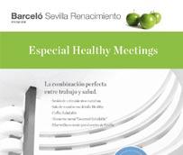 El hotel Barceló Sevilla Renacimiento lanza la propuesta 'Healthy Meetings' para incentivar reuniones saludables y productivas