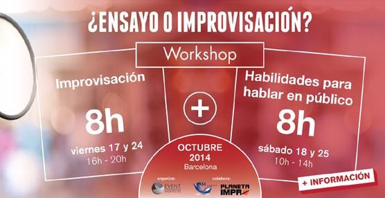 El Event Management Institute organiza en Barcelona un curso sobre improvisación y habilidades para hablar en público