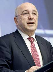 El responsable de Competencia y vicepresidente de la Comisión Europea, Joaquín Almunia.
