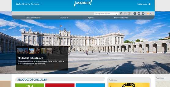 El 'portal' de Turismo de Madrid comienza a vender productos turísticos e incorporará próximamente hoteles y restaurantes