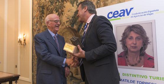 CEAV entregará al presidente del Grupo Juliá, José Adell Antonio, el segundo Distintivo Turístico Matilde Torres