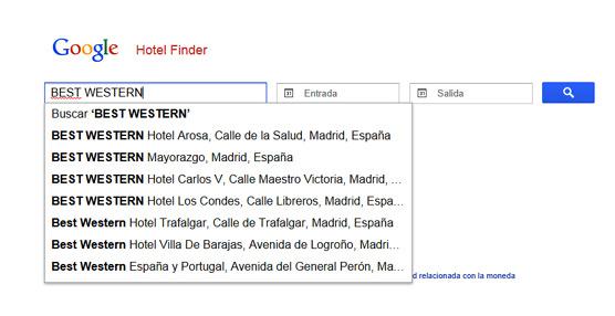 Best Western aumenta las reservas directas de sus hoteles en España y Portugal tras su acuerdo con Google Hotel Finder