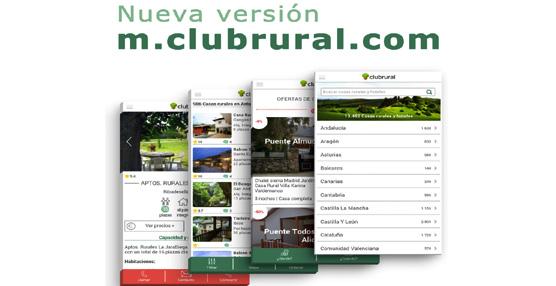 El portal de alojamientos rurales Clubrural.com se adapta a las necesidades del viajero con una nueva web