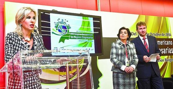 El Fórum Evolución de Burgos reúne a mujeres empresarias para abrir cauces comerciales entre empresas de 27 países