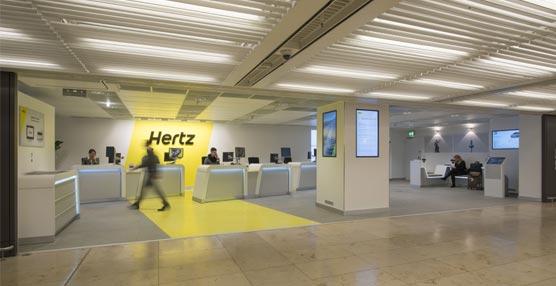 Hertz remodela su oficina en el aeropuerto de Frankfurt ofreciendo nuevos espacios y tecnología