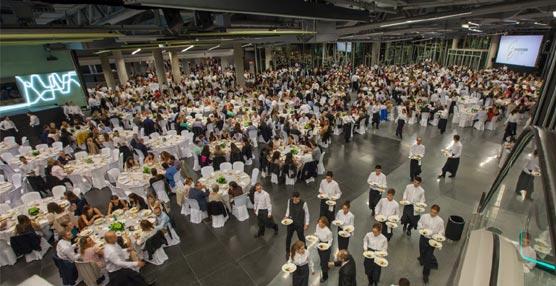 Una cena con más de 2.000 personas cierra el Congreso de SEMERGEN en el Palacio Euskalduna de Bilbao