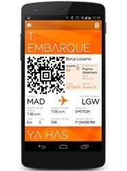 Los viajeros españoles prefieren la tarjeta de embarque impresa antes que la digital, según Kayak.es