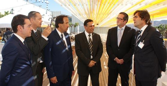 El príncipe de Arabia Saudí visita el Auditorio y Palacio de Congresos El Batel de Cartagena