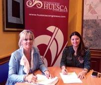 La Fundación Agustín Serrate-Arcadia y el establecimiento Monic son los nuevos miembros de la Fundación Huesca Congresos
