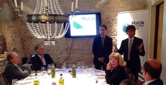 Murcia presenta en Madrid su oferta como destino de reuniones a empresas y profesionales MICE