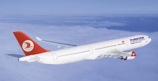 Turkish Airlines alcanza un beneficio neto de 549 millones de euros hasta septiembre, un 87% más que en 2013