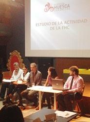 La Fundación Huesca Congresos celebra un nuevo encuentro entre sus socios en Abadía de Siétamo