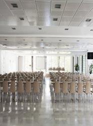 Una de las salas de reuniones del Hotel NH Collection Madrid Eurobuilding, sede del Seminario.