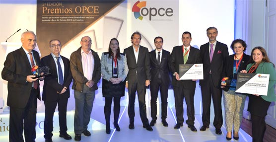OPCE Cantabria entrega sus premios anuales que reconocen la labor de promoción y potenciación del Turismo de Congresos
