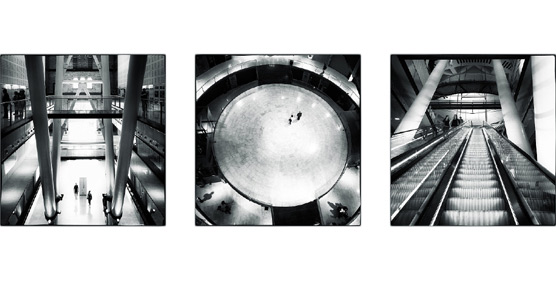 XIV Premio Eurostars Grand Marina de Fotografía para un tríptico del Centre Comercial Les Arenes