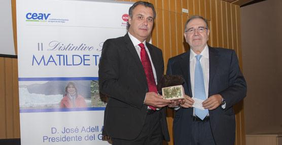 El presidente del Grupo Julià, José Adell Antonio, recibe el segundo Distintivo Turístico Matilde Torres