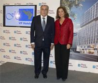 La alcaldesa de Madrid asiste a la presentación del nuevo establecimiento de VP Hoteles: VP Plaza España