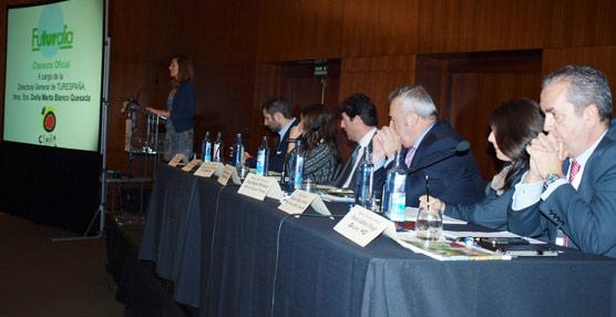 Blanco subraya en Futuralia que 'la sostenibilidad es fundamental para hacer frente a destinos competidores'