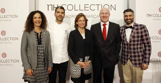 Elegancia y actualidad se unen en el reformado NH Collection Abascal, que estrena nueva línea de diseño
