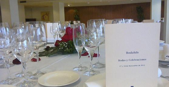 El Gran Hotel Rey Don Jaime acoge la edición otoño 2014 de Bodafels, la feria nupcial de Grup Soteras en Castelldefels