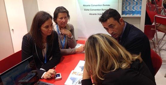 Alicante muestra su oferta congresual en Barcelona, un Sector donde ha crecido considerablemente durante este año