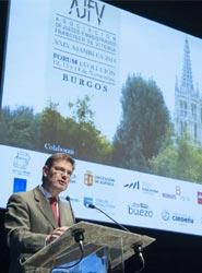 Burgos recibe a más de 300 jueces de la asociación Francisco de Vitoria durante la celebración de su asamblea anual