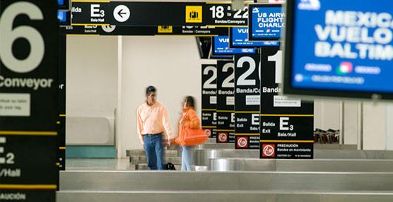 Europa y América son las regiones donde menos crece el tráfico de pasajeros aéreos, con sendos repuntes inferiores al 5%