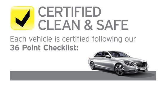 Hertz lanza el programa 'Hertz Certified Clean & Safe' que garantiza la limpieza y seguridad de los vehículos