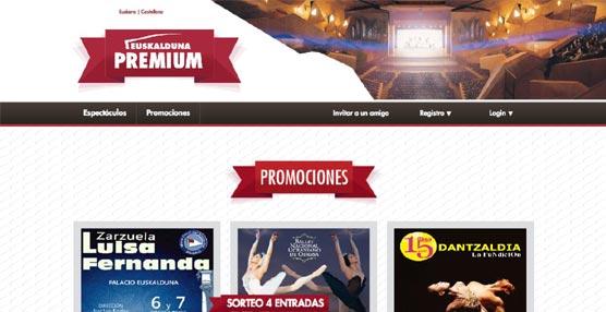 El Euskalduna premia la fidelidad de clientes y usuarios con la creación de la comunidad 'Euskalduna Premium'