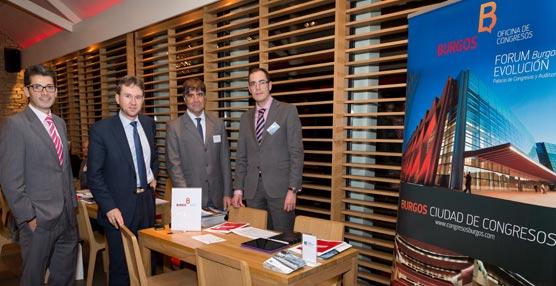 La Oficina de Congresos de Burgos potencia por primera vez la ciudad como destino MICE en el extranjero