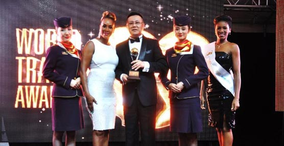 Hainan Airlines es premiada como World's Leading Airline-Business Class 2014 en los World Travel Awards