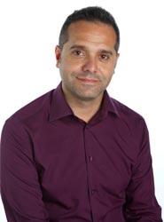 El coordinador de Izquierda Unida en Valencia, Amadeu Sanchis.