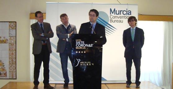 El alcalde de Murcia destaca a la Oficina de Congresos de la capital como un referente en el Sector