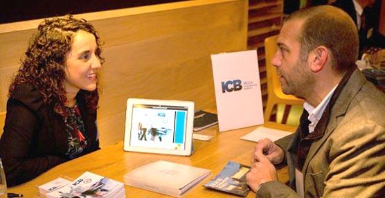 La gerente del Ibiza Convention Bureau, Ana Sánchez Vigón, en el 'workshop' de Bruselas.