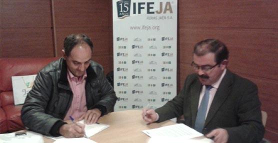 Ifeja y el Colegio de Ingenieros Técnicos en Topografía de Jaén firman un acuerdo para favorecer las sinergias entre las instituciones