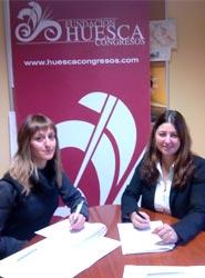 La Fundación Huesca Congresos cierra el año con 79 socios tras la firma con el 'portal' turístico-comercial Woow360!