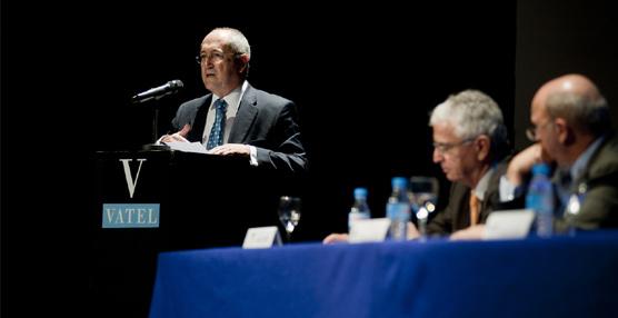 Andrés Encinas durante su intervención.