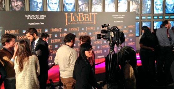 Alumnos del Máster en Gestión de Eventos Culturales del ISPE colaboran en la 'premiere' de El Hobbit
