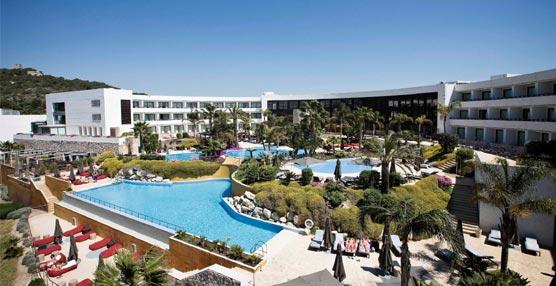 Vista panorámica del hotel Dolce Sitges.