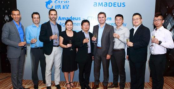Ctrip.com International se apoyará en los servicios de Amadeus para dar un impulso a su plan de expansión